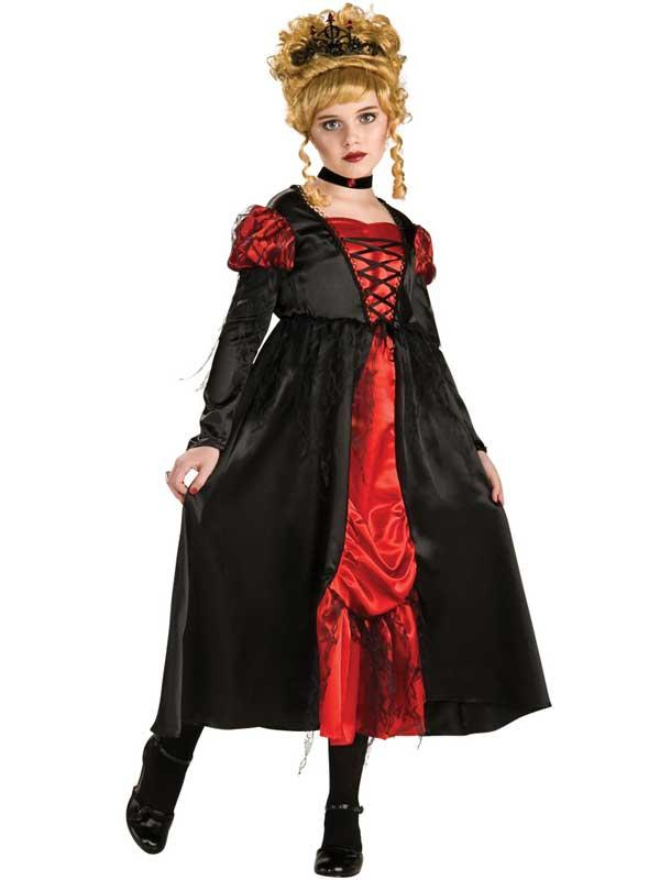 Child Girls Arisen Vampiress Costume