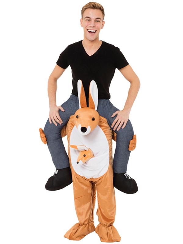 Piggy Back Kangaroo Costume