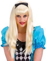 Adult Ladies Storybookalice Wig Blonde