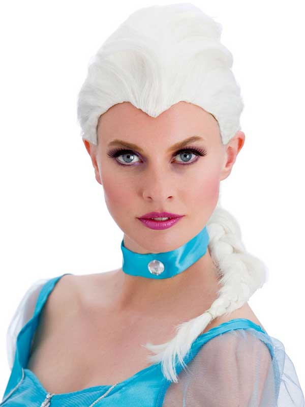 Adult Ladies Magical Princess Wig White