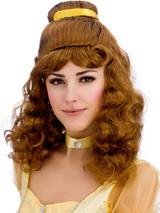 Adult Ladies Beautiful Princess Wig Brunette