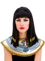 Adult Ladies Cleopatra Wig Black