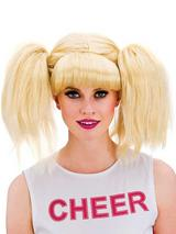 Adult Ladies Cheerleader Wig Blonde