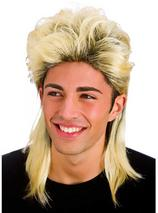 Adult Mens Mullet Wig Blonde