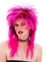 Adult Rocker Wig Pink