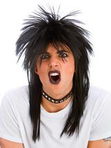Adult Rocker Wig Black