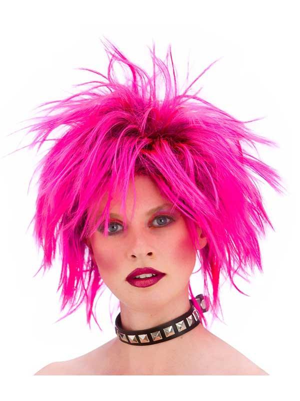 Adult Punk Wig Pink