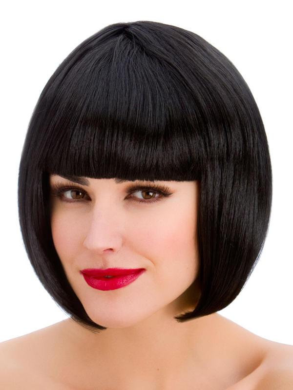 Adult Ladies Diva Black Wig