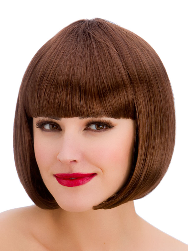 Adult Ladies Diva Brown Wig
