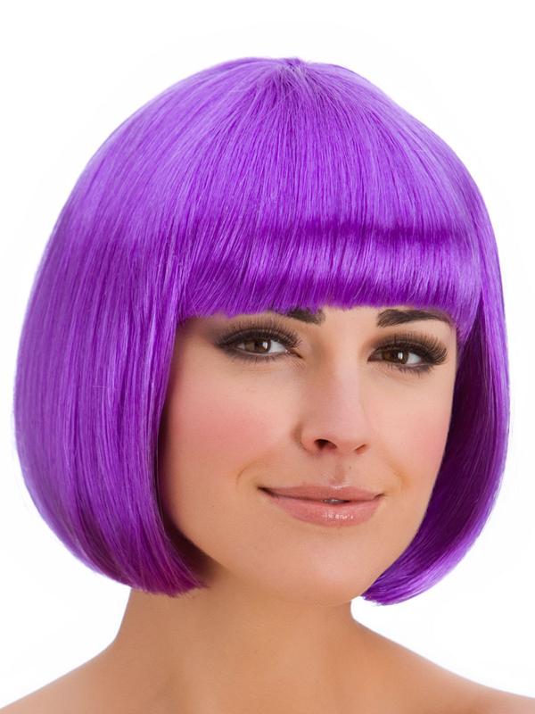 Adult Ladies Diva Purple Wig