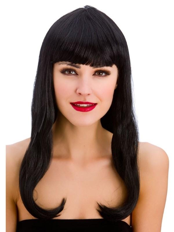 Adult Ladies Fantasy Wig Black