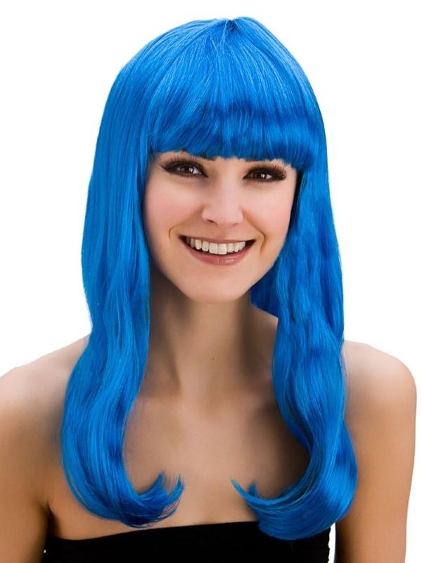 Adult Ladies Fantasy Wig Blue