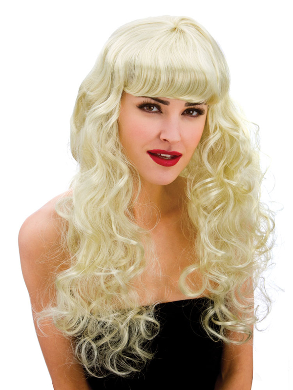 Adult Ladies Foxy Blonde Wig