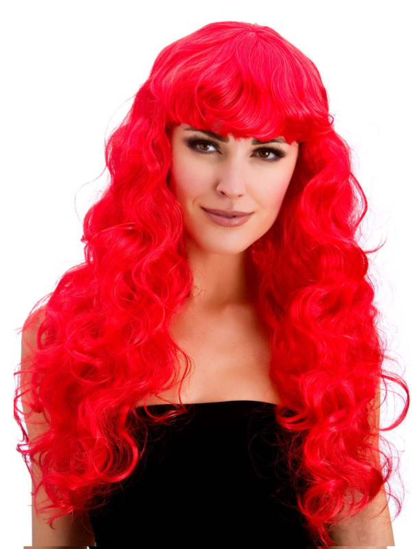 Adult Ladies Foxy Red Wig