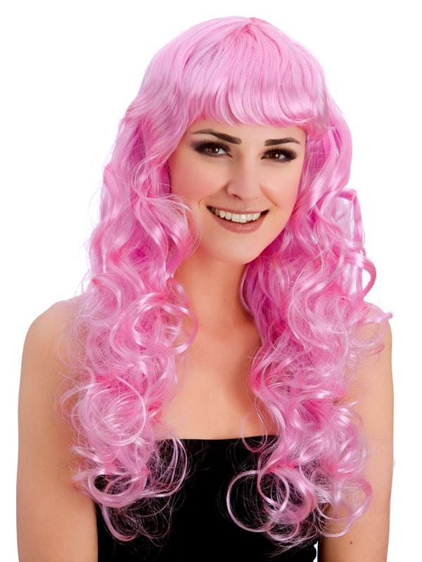 Adult Ladies Foxy Pink Wig