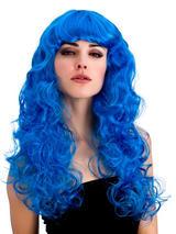 Adult Ladies Foxy Blue Wig