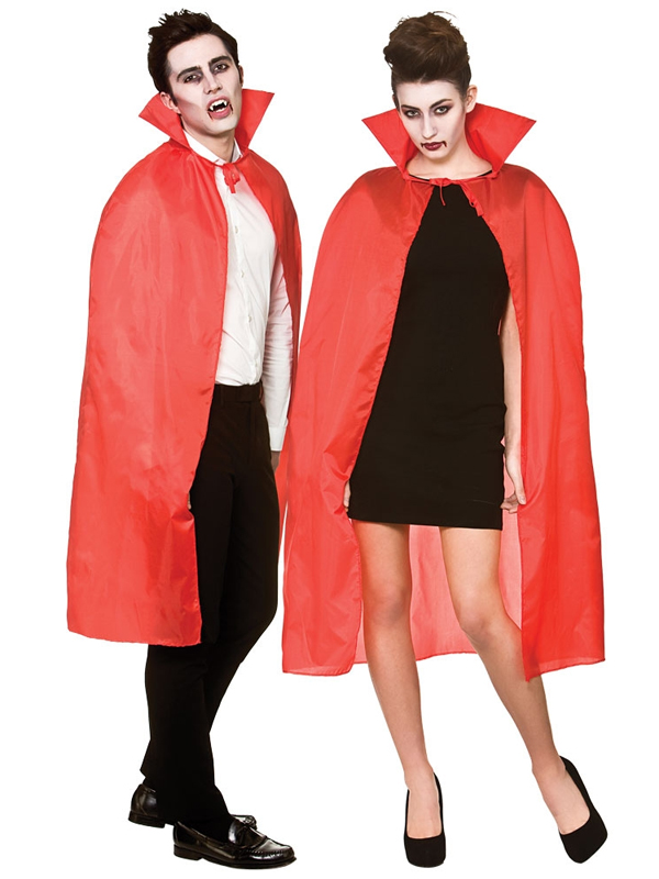 Cape With Collar Red