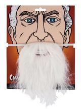 Adult Mens Beard White
