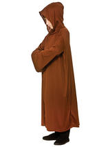 Child Brown Hooded Robe Costume