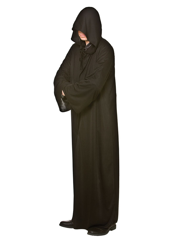 Hooded Robe Black