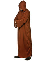 Hooded Robe Brown
