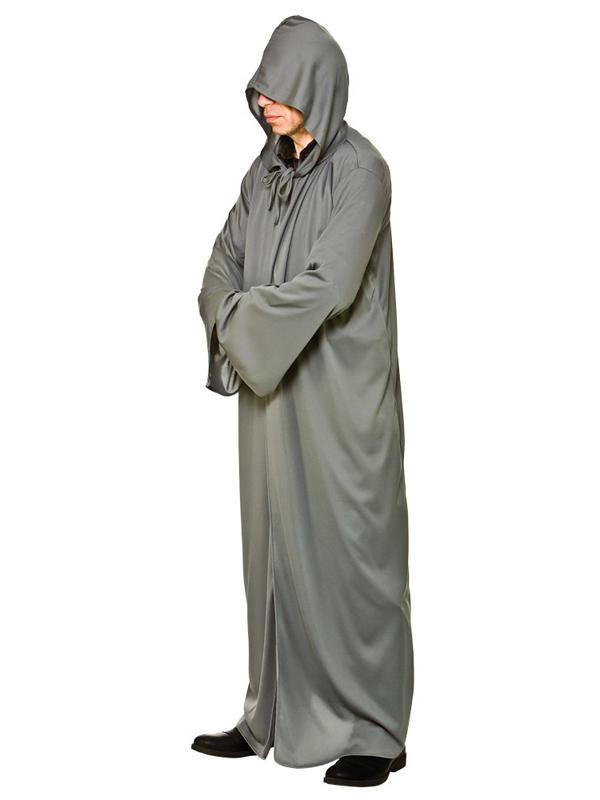 Hooded Robe Grey