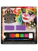 Colourful Killer Clown Makeup Kit