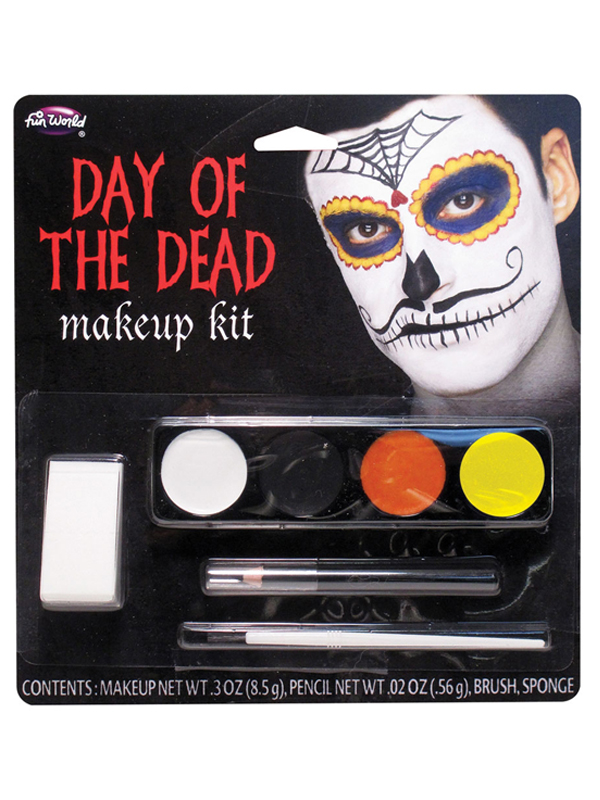Day Of The Dead Makeup Kit Moustache Man