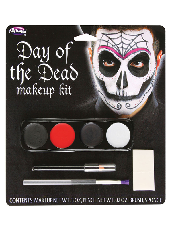 Day Of The Dead Makeup Kit Spider Face