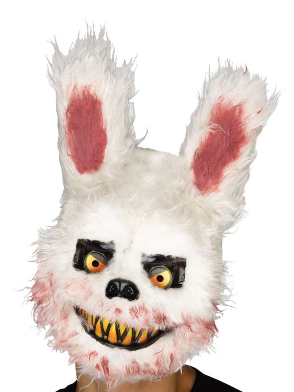 Adult Killer Critter Mask Bunny