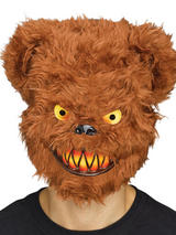 Adult Killer Critter Mask Bear