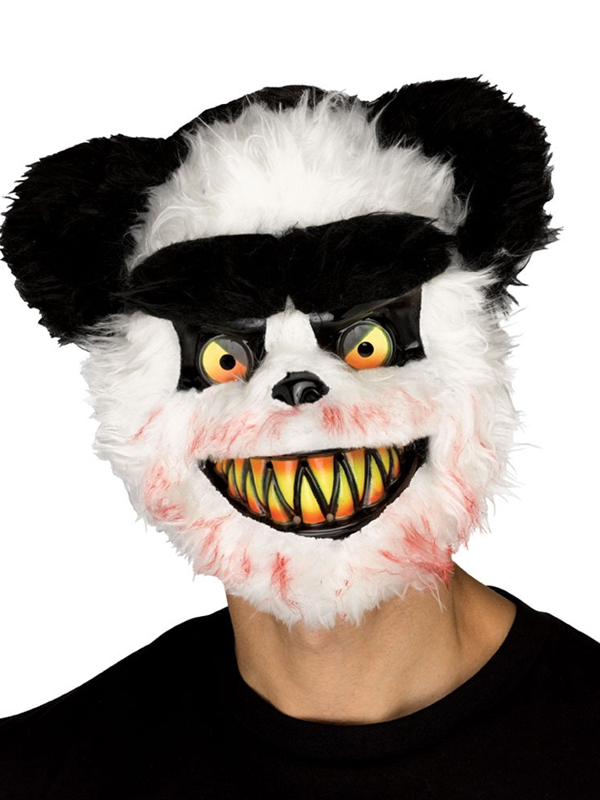 Adult Killer Critter Mask Panda