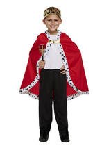 Child Boys Cape King