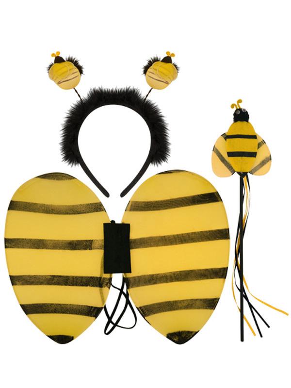 Child Girls Bumblebee Set 3pc