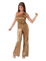 Solid Gold Lady Costume