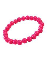 Pop Art Pearl Bracelet Hot Pink