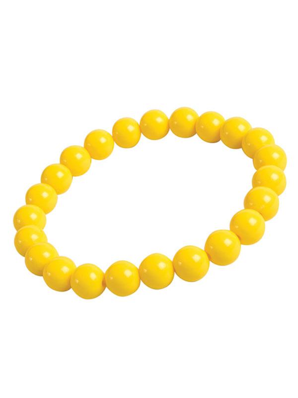 Pop Art Pearl Bracelet Yellow
