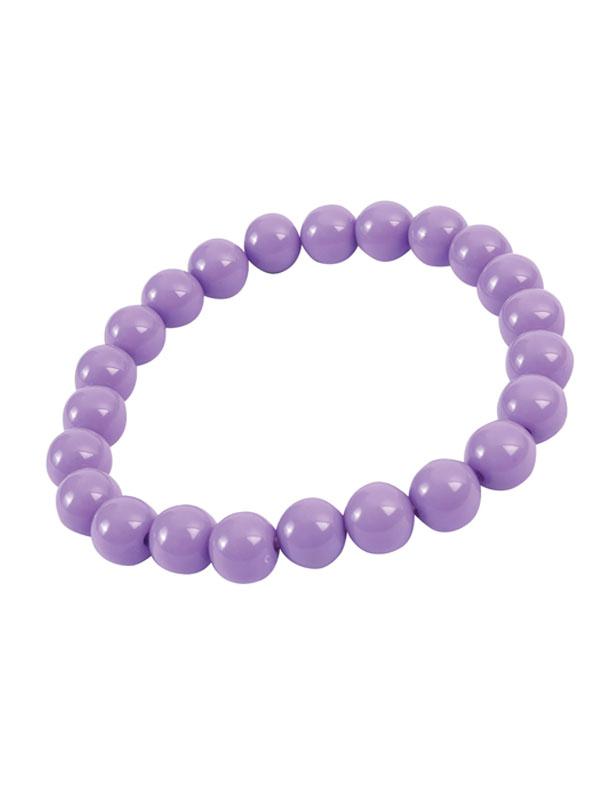 Pop Art Pearl Bracelet Lavender