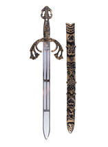 Mens Battle Sword + Sheath