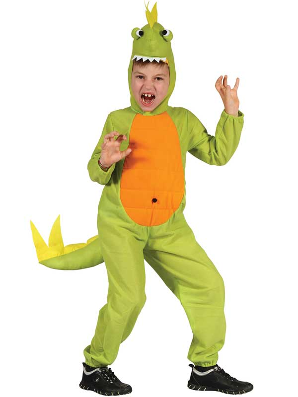 Child-Costume-Da-Dinosauro-T-Rex-Ragazzi-Ragazze-  sc 1 st  eBay & Child Dinosaur Costume T Rex Boys Girls Kids Book Week Day Fancy ...