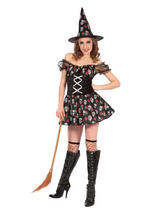 Witch Skull Design Costume