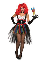 Evil Girlie Clown Costume