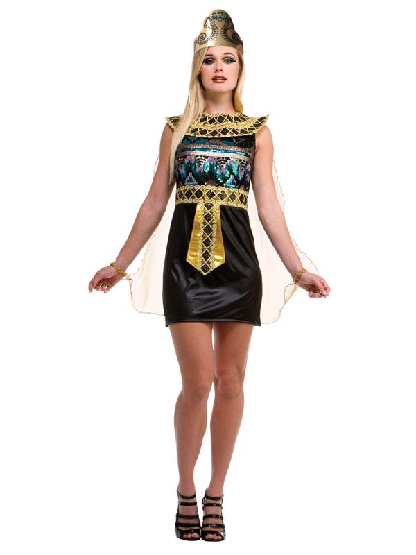 Egyptian Sequin Dress Costume