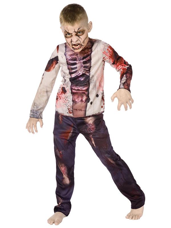 Child Boys Zombie Boy D Costume