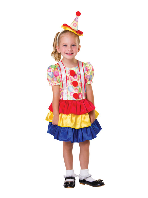 Child Clown Cutie Costume