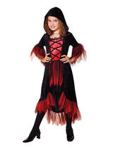 Child Girls Vampire Girl Costume