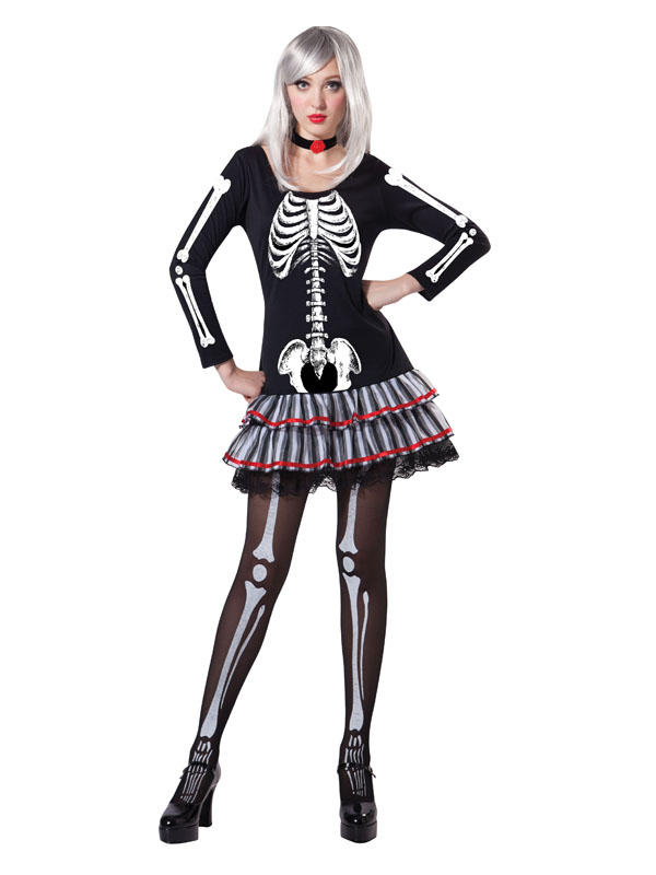 Skeleton Maiden Costume