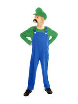 Child Super Workman Green Costume