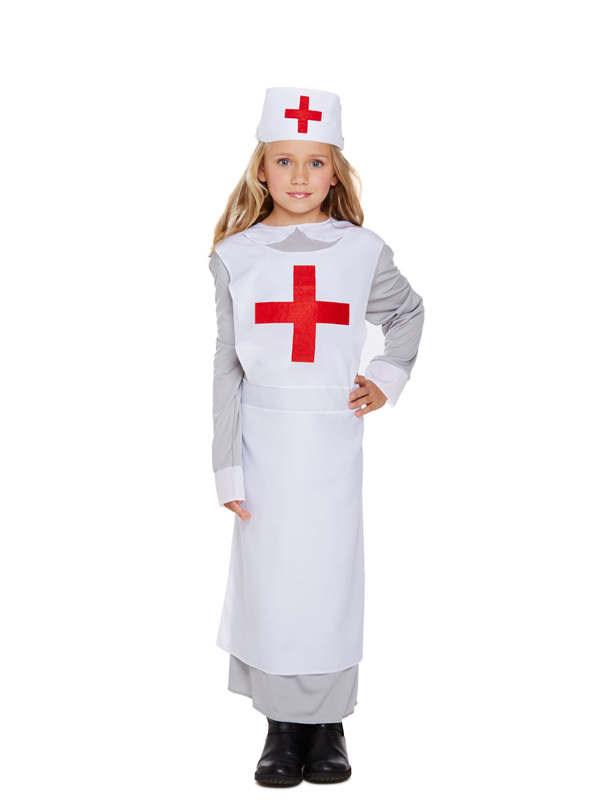 Child Nurse WW1 Costume