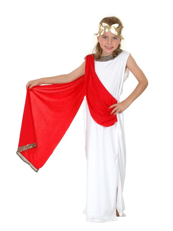 Child Roman Goddess Costume